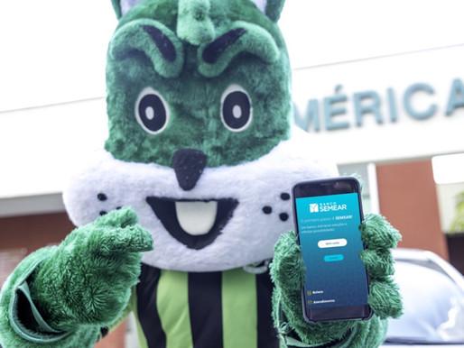 Banco SEMEAR anuncia patrocínio ao time América mineiro. E primeira ação é lançar conta digital.