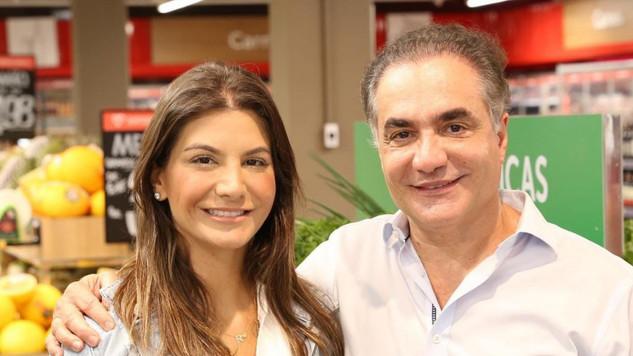 Agora + uma loja do Super Nosso. O CEO Euler e filha Rafaela Nejm inauguraram a da Grão Mogol em BH