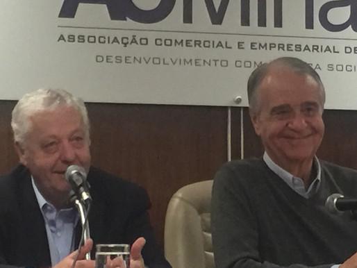 Presidente da TAP no Brasil homenageado pela ACMinas