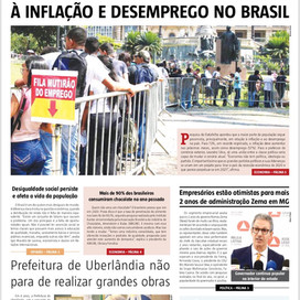 Jornal Edição do Brasil: circulando o semanário mais completo de política & economia de Minas.