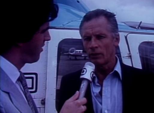 Enchente do rio Arrudas. Janeiro de 1983. Eu cobrí como repórter da Rede Globo