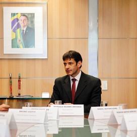 Ministro do Turismo, o mineiro Marcelo Álvaro Antonio em ação: Planejamento Estratégico