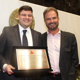 Diretor da TV Record Minas, Gustavo Paulus, é o mais novo Cidadão Mineiro