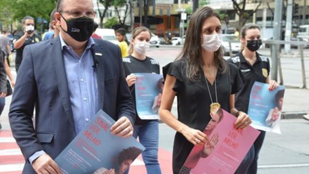 CDL/BH e PCMG iniciam campanha de combate à violência contra a mulher  no comércio da capital