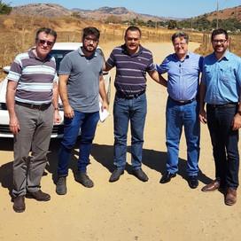 Edersul e ABCP levam projeto inédito de pavimentação de cimento para Periquito no leste mineiro
