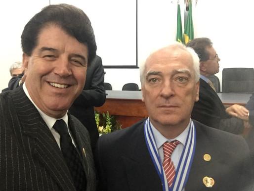 Cônsul de Portugal homenageado em Barbacena