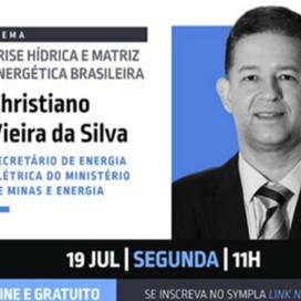 CRISE ENERGÉTICA em discussão online no Conexão Empresarial dos jornalistas PCO & GCO. Hoje 11:00