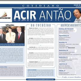 Edição do Brasil. Circulando mais uma edição do mais influente semanário de Minas.