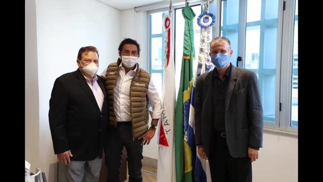 Diretoria do Minas Tênis recebeu os CEOs da Drogaria Araújo e do Grupo Cimed: vem aí + parcerias!!!