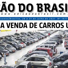 Jornal Edição do Brasil. Mais uma edição do influente semanário de Política & Economia de Minas.