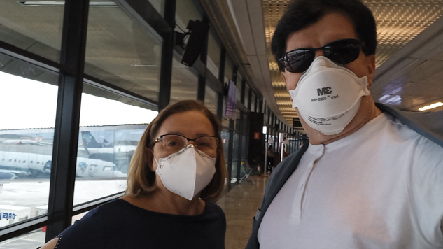 07:20 da manhã. Rumo a Goiânia. No embarque da Azul no Aeroporto Internacional de BH.