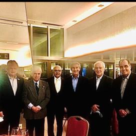 25 anos da Câmara Portuguesa em Minas. Embaixador Luiz Faro Ramos veio a BH e foi homenageado.