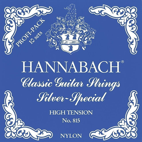 HANNABACH CLASSIC GUITAR STRINGS SERIES 815 SILVER SPECIAL
