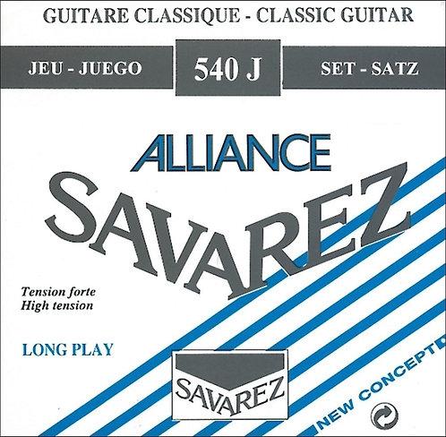 SAVAREZ STRINGS FOR CLASSIC GUITAR ALLIANCE HT CLASSIC 540