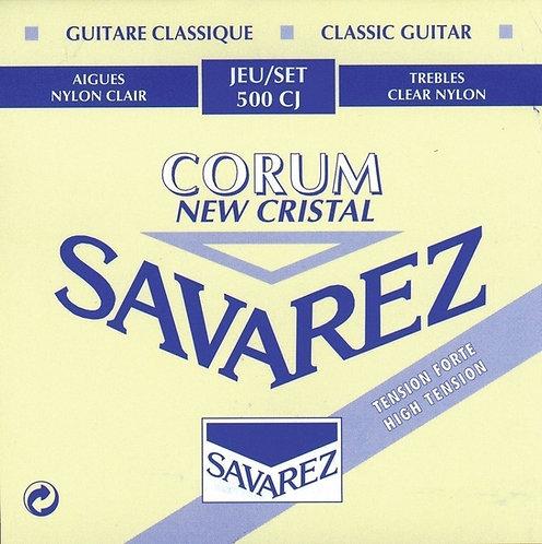 SAVAREZ STRINGS FOR CLASSIC GUITAR NEW CRISTAL CORUM
