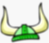 106-1065690_lime-green-viking-helmet-vik