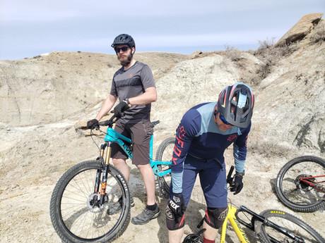 Do you really need mountains - to go mountain biking?