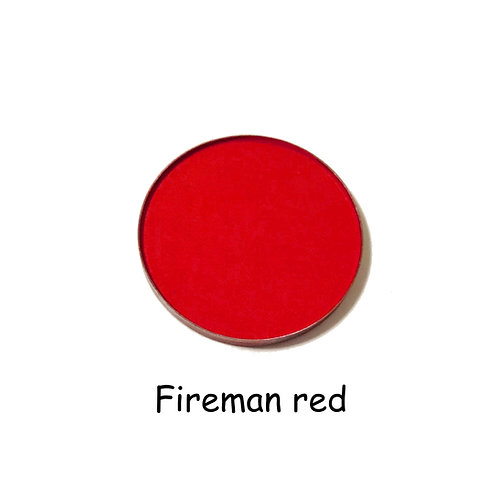 Fireman Red - Matte Bright Red