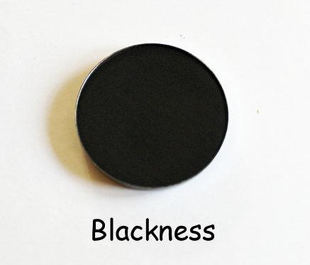 Blackness- Matte Black powder pan