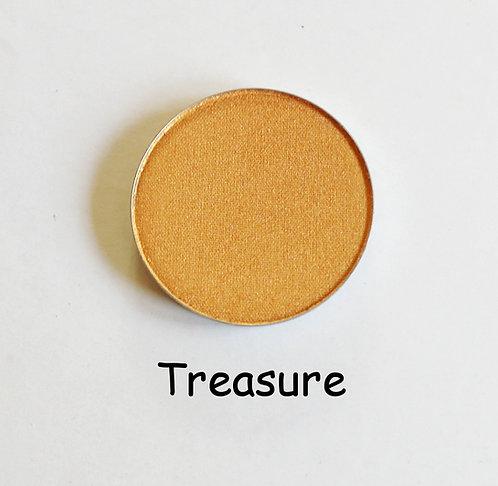 Treasure-Shimmer Gold powder pan