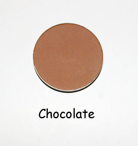 Chocolate- Matte Brown powder pan