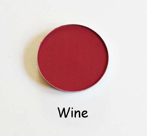 Wine-Matte Burgundy powder pan