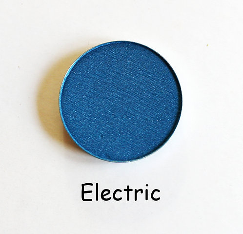 Electric- Shimmer Dark Blue powder pan