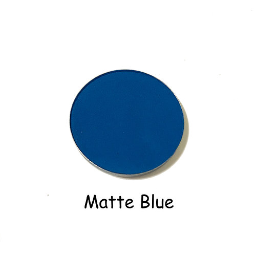 Matte Blue - Matte Blue Color