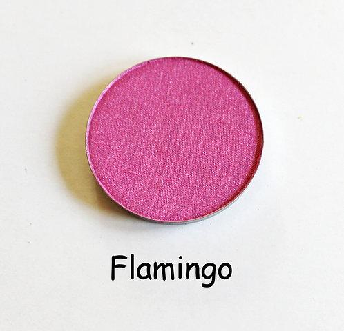 Flamingo- Shimmer Pink powder pan