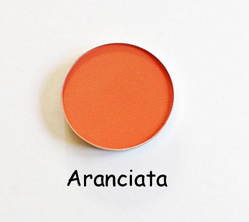 Aranciata-Matte Orange powder pan