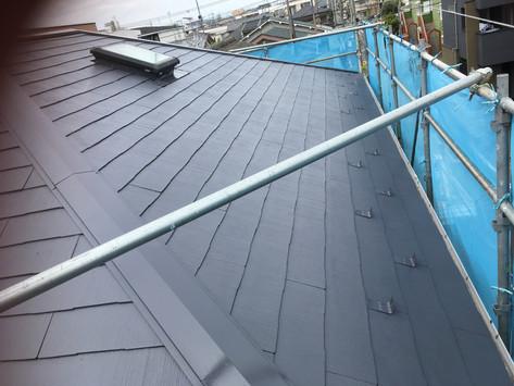 M様邸カラーベスト屋根塗装工事後