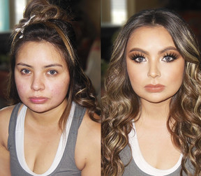 Fresno Makeup & hairstylist