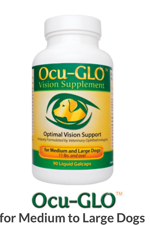 Ocu-GLO™ For Medium to Large Dogs 90 Capsules