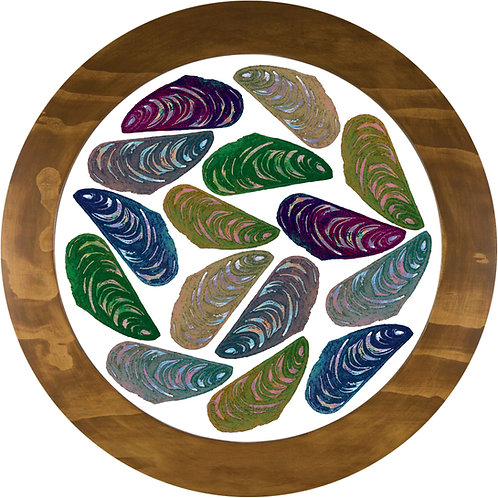 Psychedelic Mussels - Fine Art Print