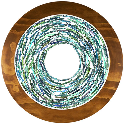 Symphony in Blue v.1 - Fine Art Print