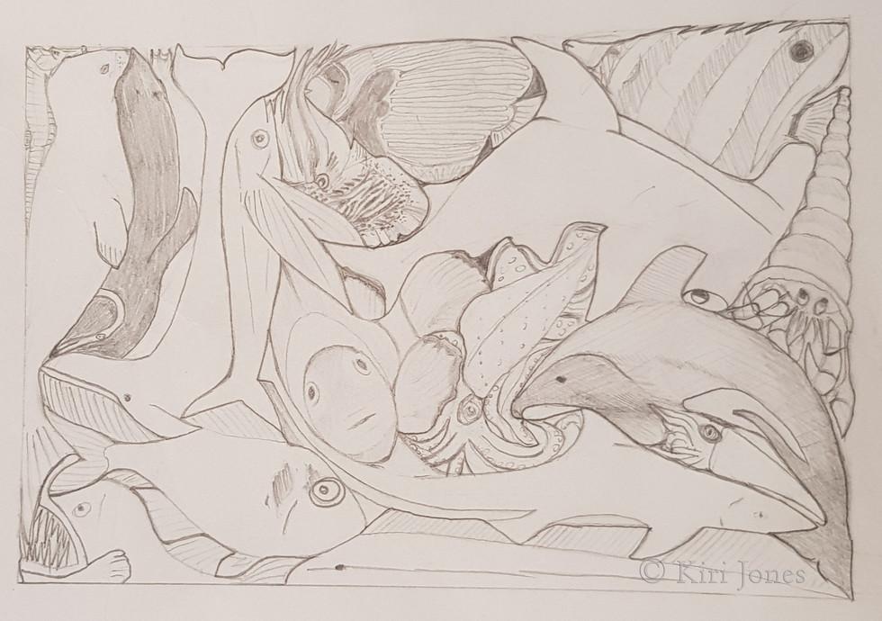 Original Sea Creature Design Proposed