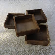 Wood Square Tray