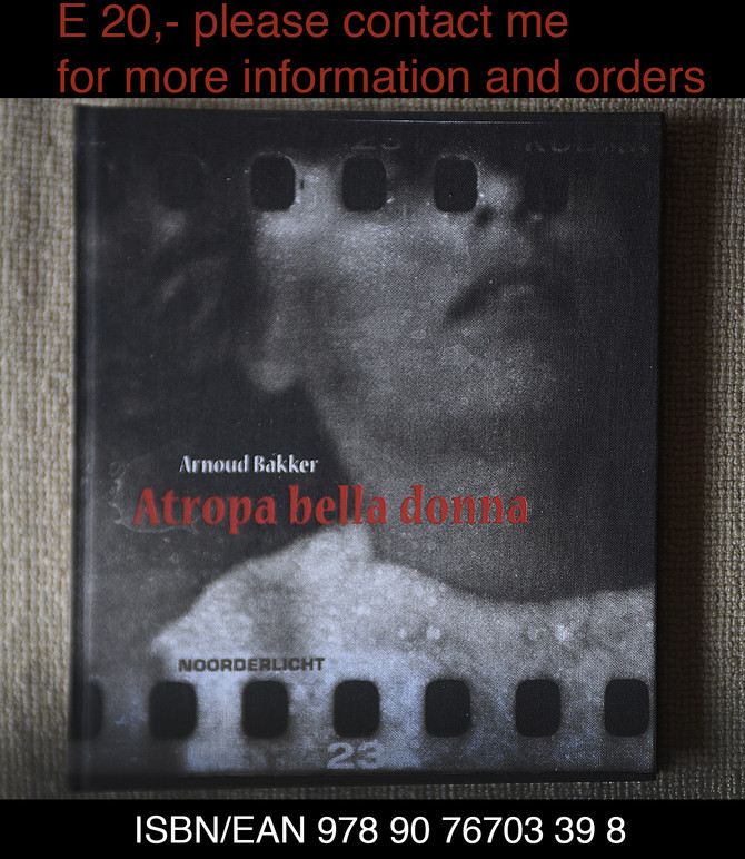 ATROPA BELLA DONNA the photobook for sale