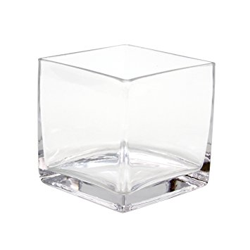 17 Square Cube Vase MED