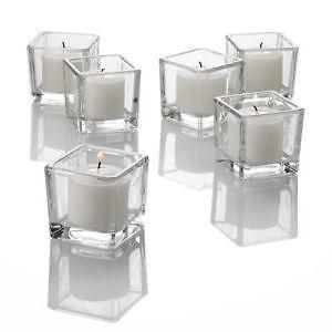 Square Cube Votive Holders