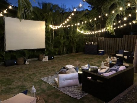 Backyard Movie Night  🎬