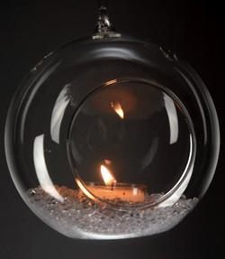 Glass Orbs Hanging Glass
