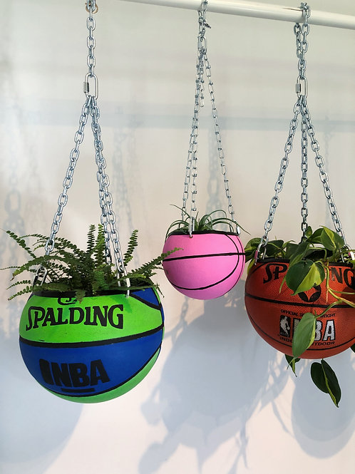 Basketball Planter- Mini