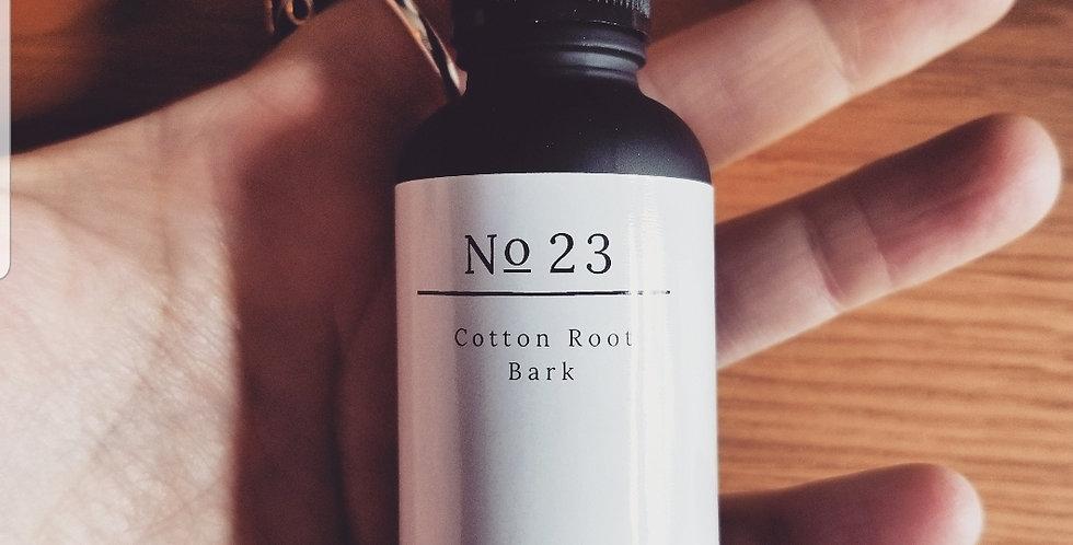No 23 cotton root bark