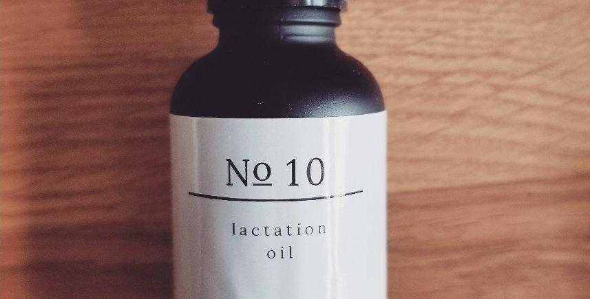 No 10 lactation oil blend