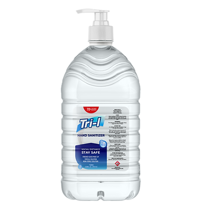 Gel Sanitizer 70% alcohol base, One Gallon