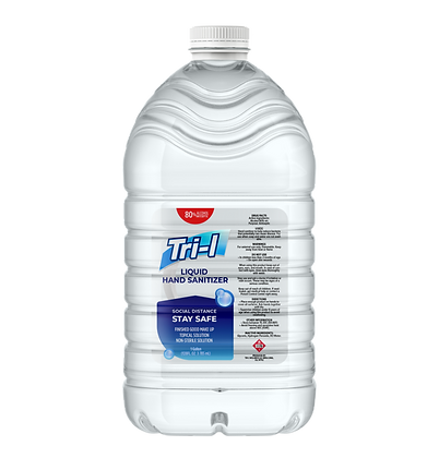 Liquid 80% alcohol Sanitizer, One Gallon
