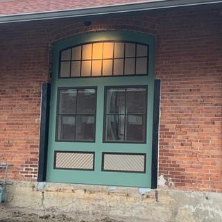 Faux door (wall made to look like a door