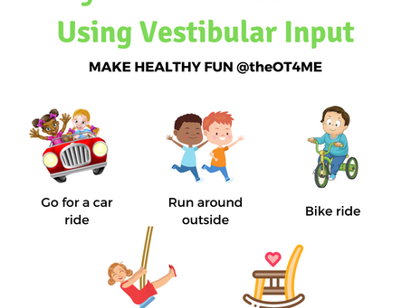 Ways to Calm Kids Down Using Vestibular Input