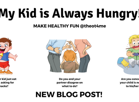 My Kid is Always Hungry…